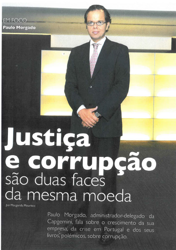 Paulo Morgado on justice and corruption