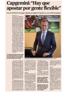 Paulo Morgado's appointment as CEO at Capgemini Spain | Expansión