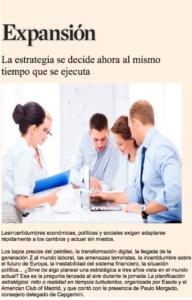 Management | Paulo Morgado in Expansión