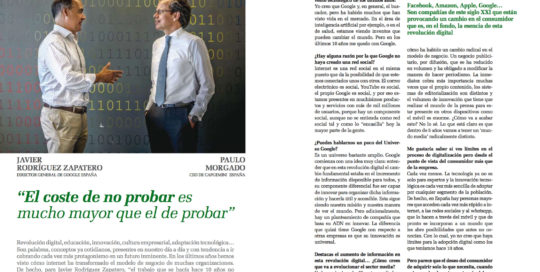 Javier Rodríguez Zapatero, Managing Director at Google Spain