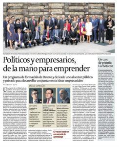 Leadership programmes | Paulo Morgado in Cinco Días