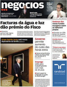Business ethics | Paulo Morgado in Jornal de Negócios