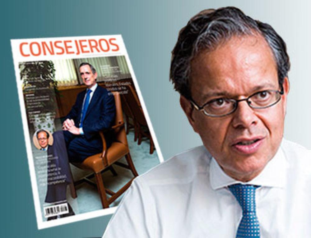 """Entrevistado por Fernando González Urbaneja en la revista """"Consejeros"""""""