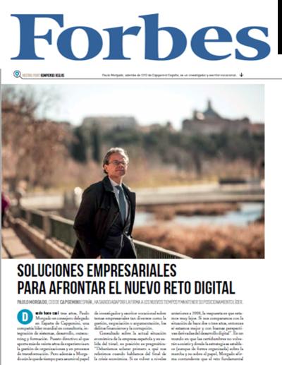 Paulo Morgado, en Forbes