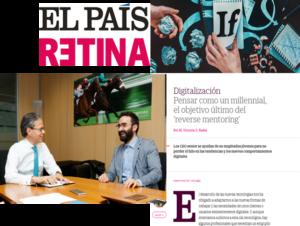 Reverse Mentoring   Paulo Morgado in El País Retina