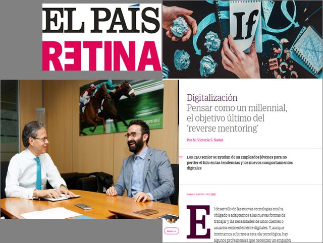 Reverse Mentoring | Paulo Morgado in El País Retina