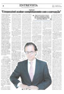 Combating corruption | Paulo Morgado in Campeão das Províncias