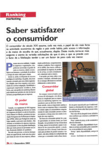 Meeting consumer's needs | Paulo Morgado in magazine DH