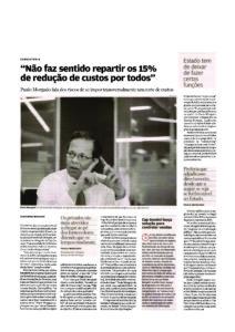 Public spending cuts | Paulo Morgado in Jornal de Negócios