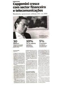 2006 Results | Paulo Morgado in Jornal de Negócios