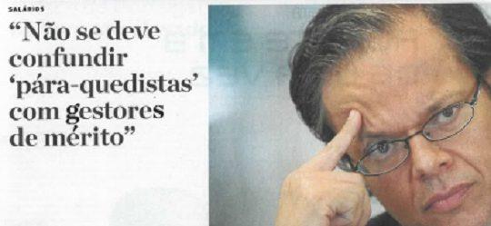 Executive pay | Paulo Morgado in Jornal de Negócios