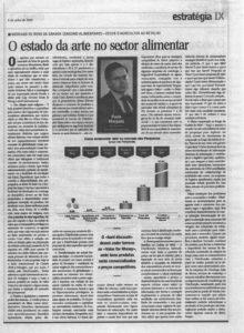 Food industry   Paulo Morgado in Jornal de Negócios