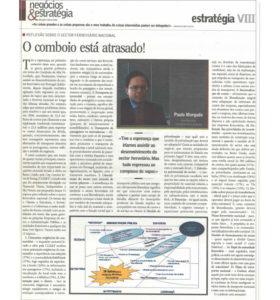 Train delayed! | Paulo Morgado in Jornal de Negócios