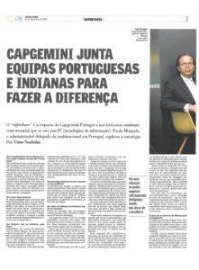Rightshore | Paulo Morgado in O Jornal Económico