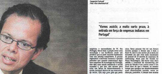 Financial crisis in Portugal | Paulo Morgado in O Jornal Económico
