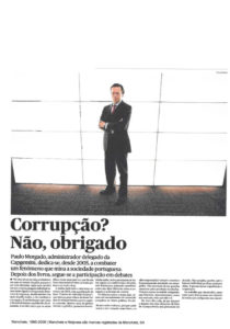 Corruption? No, Thanks | Paulo Morgado in PÚBLICO