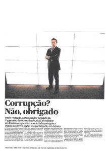 Corruption? No, Thanks | Paulo Morgado in PÚBLICO
