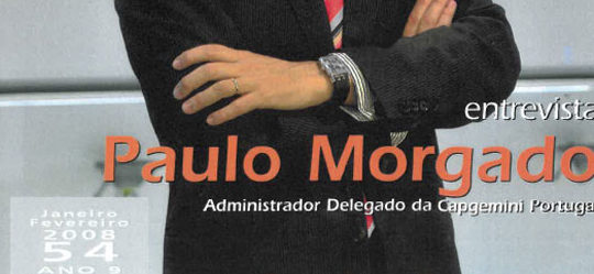 RH Magazine | Paulo Morgado's interview featured on the front cover
