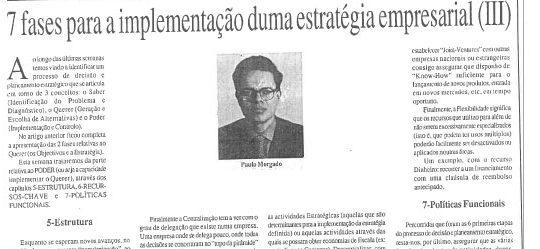 Company strategy (3) | Paulo Morgado in JL