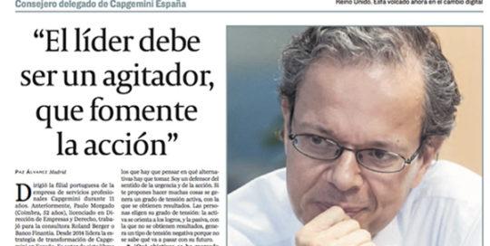 Leadership. What is a leader? | Paulo Morgado in Cinco Días
