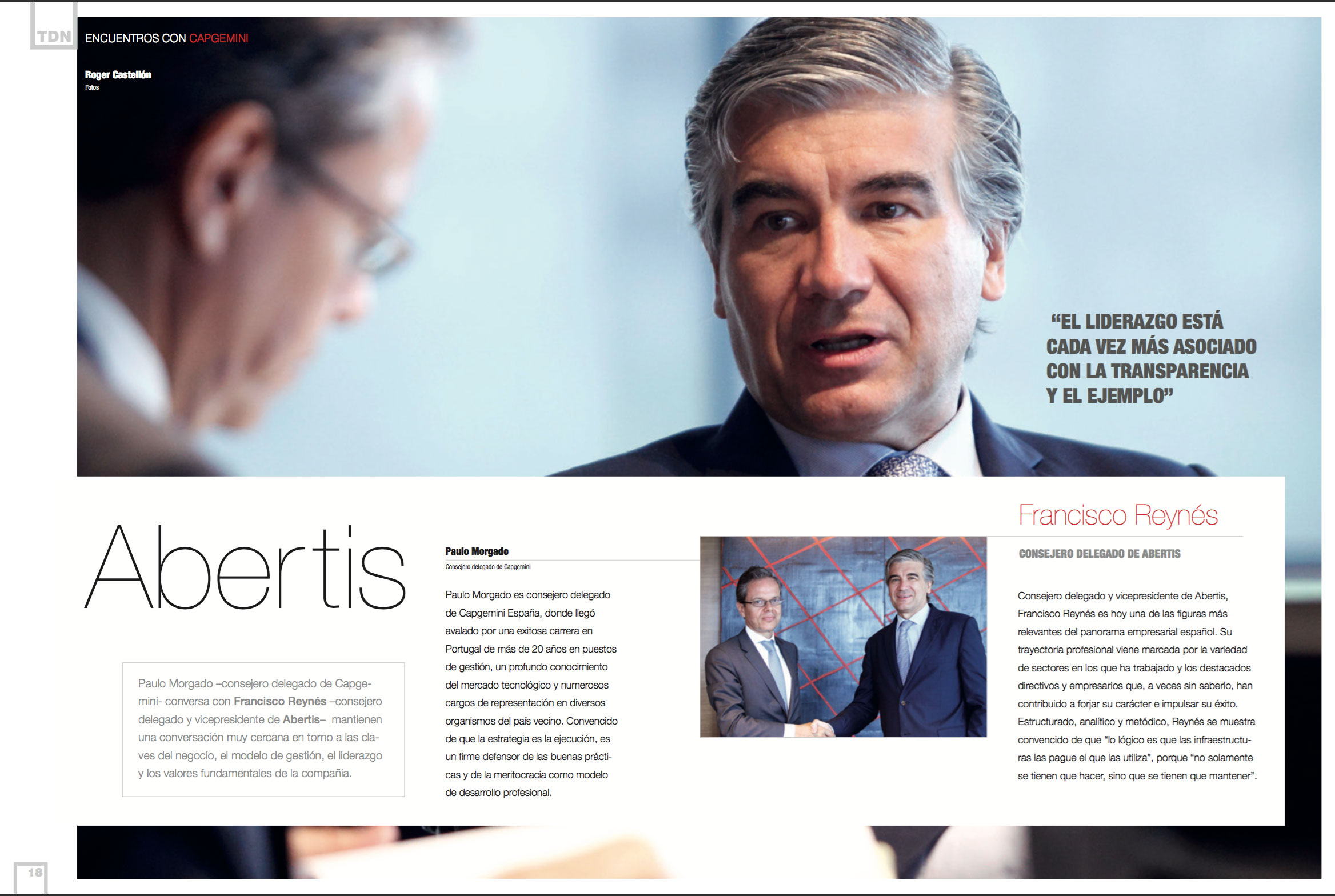 Francisco Reynés, Chief Executive Officer and Vice President at Abertis