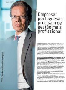 Professional management | Paulo Morgado in LIDEWORKS