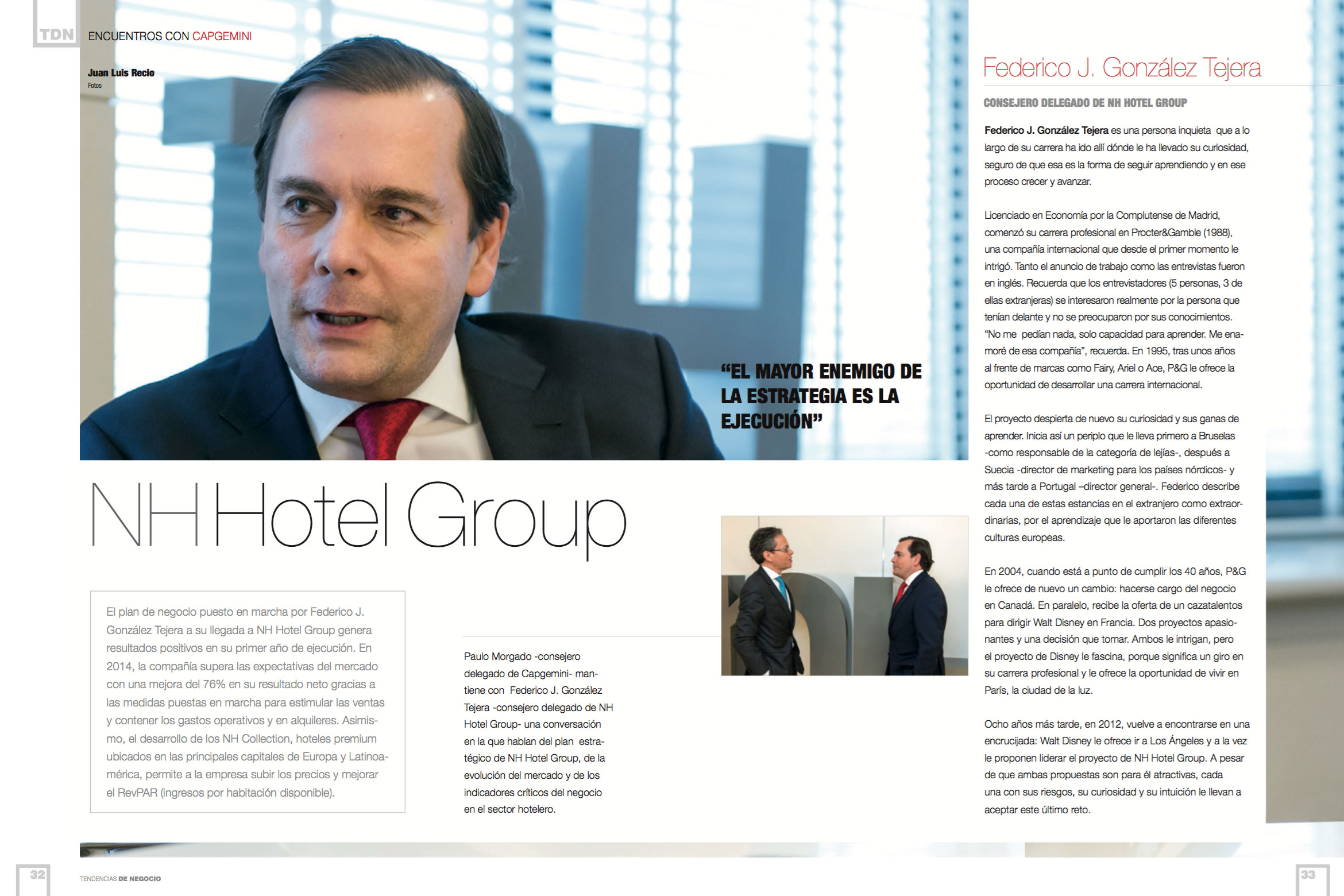 Federico González Tejera, Chief Executive Officer at NH Hotel Group