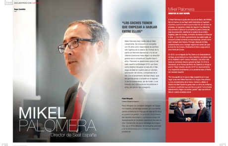 Mikel Palomera, Managing Director at SEAT Spain