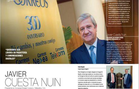 Javier Cuesta Nuin, President & CEO at Correos