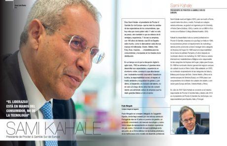 Sami Kahale, President of Procter & Gamble Southern Europe