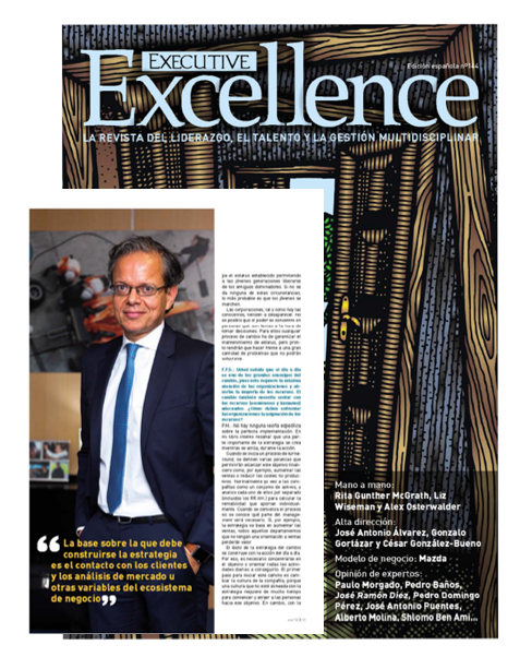 Paulo Morgado in Executive Excellence, from Cinco Días