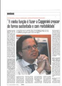 Sustainable & profitable growth | Paulo Morgado in COMPUTERWORLD
