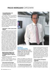 Rigour & talent | Paulo Morgado in Executive Digest