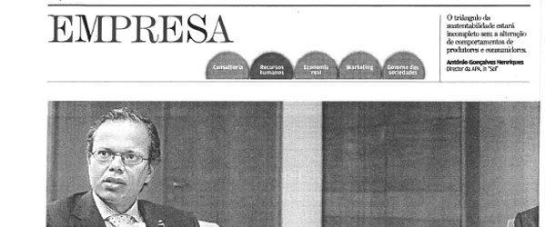 Electronic public services | Paulo Morgado in Jornal de Negócios