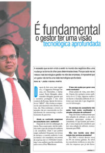 Technology & management | Paulo Morgado in Marketeer