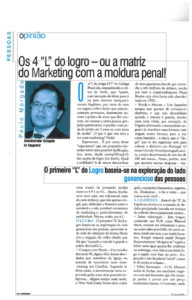 Four are the Fs for Fraud | Paulo Morgado in Marketeer