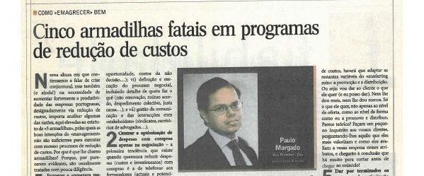 Cost cutting programmes | Paulo Morgado in Jornal de Negócios