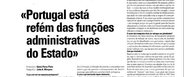 Role of the Public Administration | Paulo Morgado in O Independente