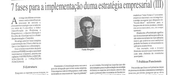Company strategy (3) | Paulo Morgado in JL
